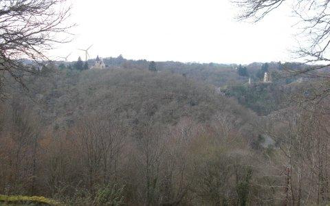 Photo montage route de St Jallet